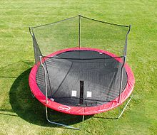 These sick arenas, where Trampoline Cage Matches take place, is a casket to one of its challengers.
